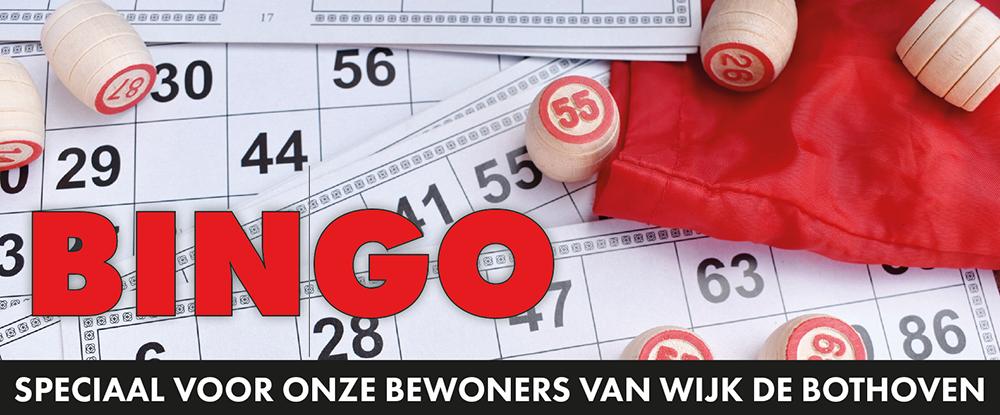 Bingo, speciaal voor onze wijkbewoners